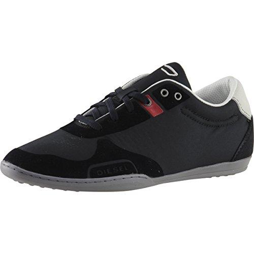 Diesel- Man Den Vikar Mode Sneaker Skor Svart / Antracit