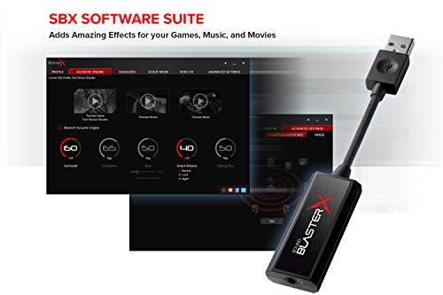 Creative Sound BlasterX G1 7.1 Portable HD Gaming ...