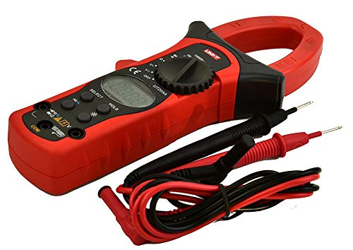 Dc Digital Clamp - High Accuracy UT205A LCD Digital Clamp meter Multimeters DC AC Volt Ampere Ohm Hz Auto Range Tester