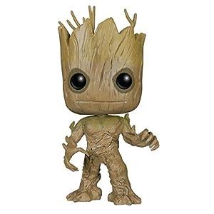 Funko POP Marvel: Guardians of The Galaxy – Groot Vinyl Bobble-Head Figure,Multi-colored,Onesize