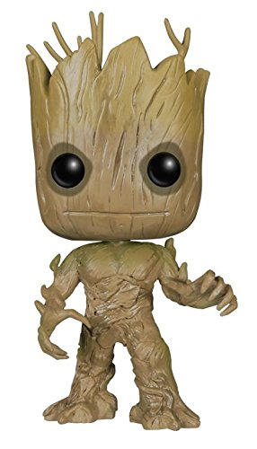 amazon com funko pop marvel guardians of the galaxy groot vinyl