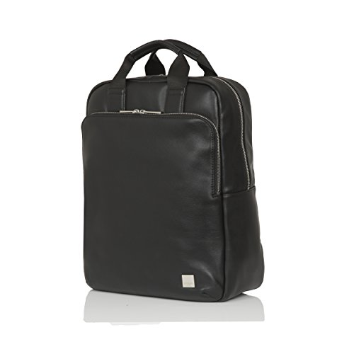 Knomo Luggage Men's Dale Business Backpack, Black, One Size by Knomo
