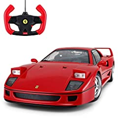 Specification: Size:1/14  This Ferrari F40 car has great flexibility for turns, speed is fast, head Lights turns on, good while driving in-house.  Full Function Radio Controlled Forward, Reverse, Stop, Left & Right. Adjustable Front Wheel...
