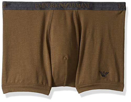 - Emporio Armani Men's Shiny Logoband Boxer Brief, Khaki, Medium