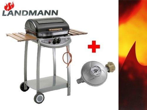 Landmann Gasgrill Grillchef Lidl : Landmann gasgrill 1208 incl. druckminderer lavastein grill