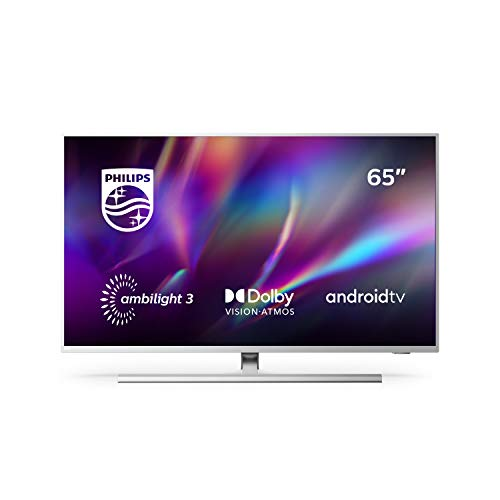 Televisor Philips Ambilight 65PUS8505/12, Smart TV de 65 pulgadas (4K UHD, P5 Perfect Picture Engine, Dolby Vision…
