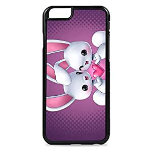 Case Fun Case Fun Rabbits in Love Snap-on Hard Back Case Cover for Apple iPhone 6 4.7 inch