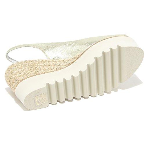 Sandals oro Shoes Doré Sandalo Zeppa Women Donna 8525I PALOMITAS qwWzI0ZSn