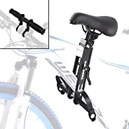 Wender Kids Bike Seat and Handlebar,Front Mounted Child Bicycle Seats Attachment Compatible with All Adult Mou