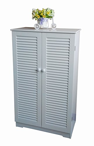 Homecharm intl storage cabinet 2 for 18 inch louvered door