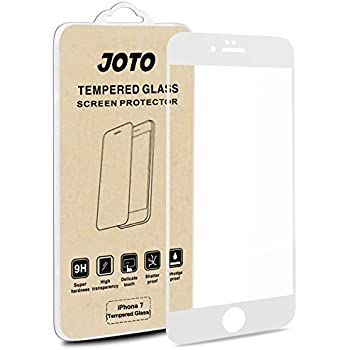 iphone 8 iphone 7 screen protector joto full screen tempered glass screen. Black Bedroom Furniture Sets. Home Design Ideas