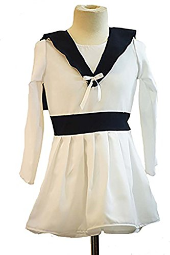 Sound Of Music Dance Costumes (CL COSTUMES World Book Day-Stage-Panto-Dance-Sound of Music Von Trapp Sailor Girl Child's Fancy Dress Costume - All Ages (Age 7-8))