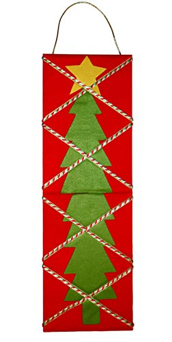 Michael Andrew Christmas Tree Memory Board Card Holder Holiday Wall Decor (Card Holiday Stand Holder)