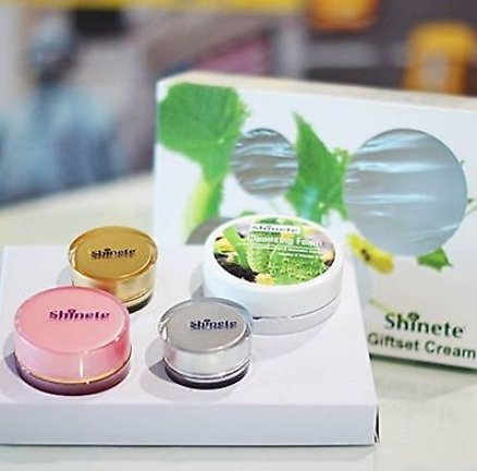 Shinete 4 in 1 Giftset Cream Baby Face Whitening Lighteni...