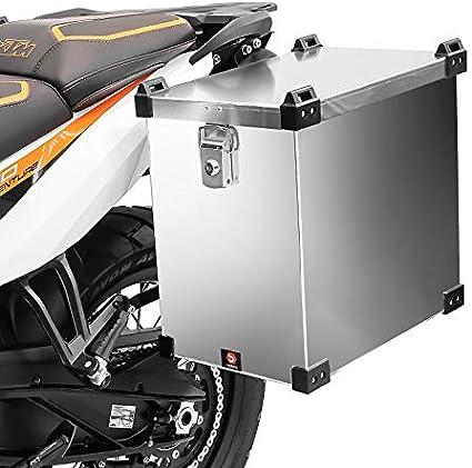 Maleta Lateral de Aluminio para Motos para KTM 1290 Super Adventure/R/S/T Bagtecs Namib 40l Bolsa Lateral