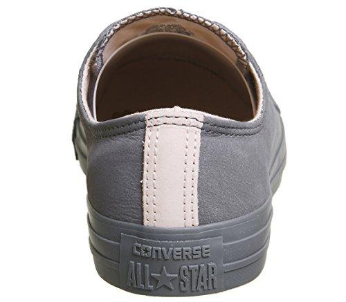 Unisex Lea Chuck carbonligh Adulto Sneaker Taylor Ox Converse Core Grigio YC1xqwHC
