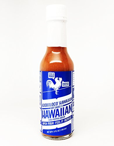 (Adoboloco Hot Sauce - 5 Ounce Bottle (Hawaiian Chili Pepper Water))