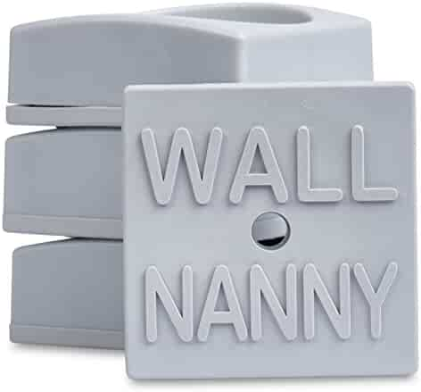 4 Pack Made In Usa For Dog /& Pet Gate Wall Nanny Mini Baby Gate Wall Protector