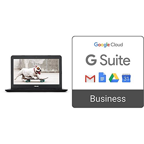 Price comparison product image ASUS Chromebook C300SA Compact 13.3 Inch + G Suite Business monthly subscription