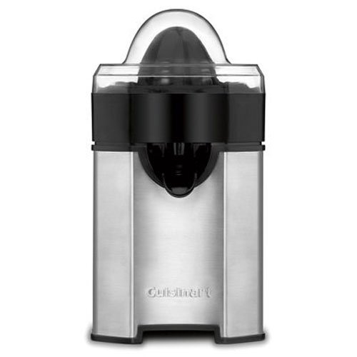 Cuisinart CCJ-500 Pulp Control Citrus Juicer, Brushed Stainless (Certified Refurbished)