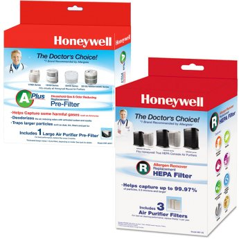 Honeywell HPA300 Air Purifier Filter Pack Value Kit. One HRF-R3 - One HRF-APP1 (1 Pack)