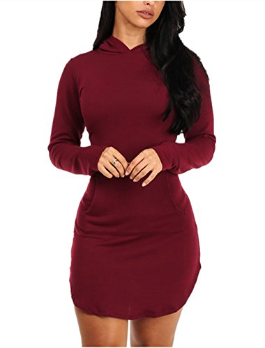 Sidefeel Women Cotton Hoodie Pocket