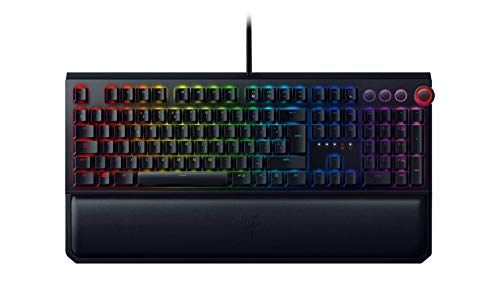 Razer Blackwidow Elite – Teclado Gaming,Teclado Mecánico Para Juegos Completo, Dial Digital Multifunción, Reposamuñecas…