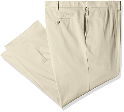 Dockers Men's Big and Tall Easy Khaki Pant-Pleated, Cloud, 48 (Big Tall Dockers)