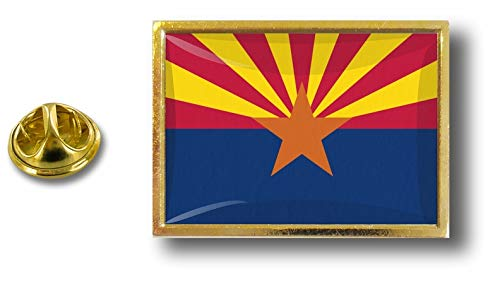 Etats Akacha Avec Pin's Pin Metal Pins Drapeau Arizona Usa Badge Papillon Pince ZzgrxZpq
