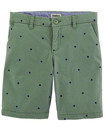 - Osh Kosh Girls' Kids Skimmer Short, Green Schiffli, 14