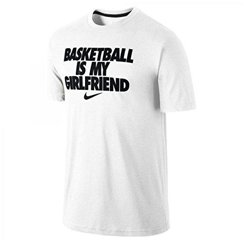 454de65b04cc Nike Basketball is My Girlfriend Graphic T-Shirt (Large) White
