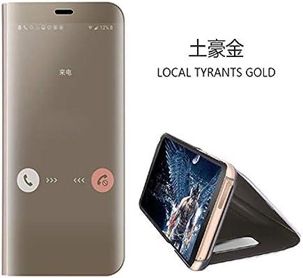 buy cheap 7dabb 34e40 Amazon.com: Desirca Touch Flip Stand Case For Galaxy S8 S9 Plus S6 ...