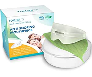 Bangbreak - Snore Stopper Mouthpiece - Snoring Solution, Sleep Aid Night Mouth Guard Bruxism Mouthpiece, Best anti snoring device, sleep well and quiet sleeping night