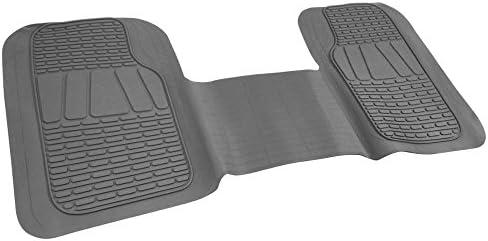 Motor Trend WingRunner Full Width Heavy Duty Floor Mat Liner (Gray)