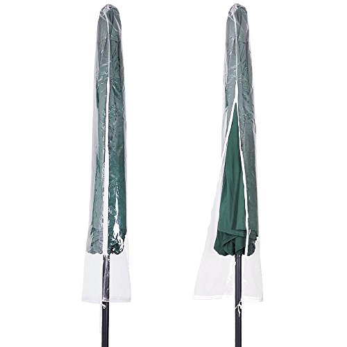 Patio Umbrella Covers With Zipper: Yescom Waterproof Patio Umbrella Cover Bag Portable