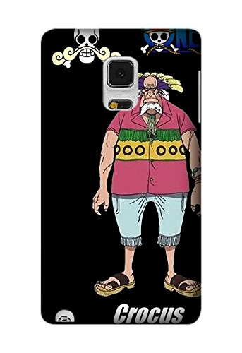 One Piece Crocus, Personalized Protective Back Cover Case For Samsung Galaxy Note Edge TPU