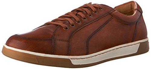 Cole Haan Men's VARTAN SPORT OXFORD CANVAS Shoe, british tan antique, 9.5 Medium - Leather Sneakers Canvas