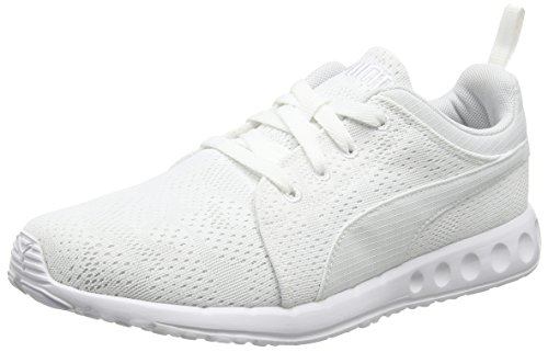 Puma Carson Runner Camo Mesh, Unisex Adults' Trainers White (White/White 08)