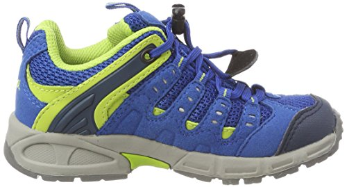 Ozean Shoes Rise 73 Respond Kids' Unisex Blue Meindl Low Junior Hiking Lemon qzUXn0w