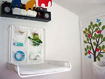 Amazon.com: IKEA ANTILOP pared cambiador mesa plegable ...