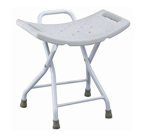 Portable Folding Shower Chair Bathtub Seat without Back Lightweight Shower Chair from Unknown