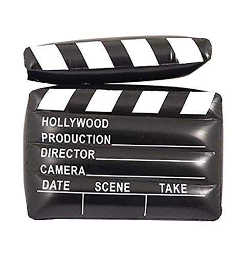 Rimi Hanger Children Inflatable Clapper Board 43cm Kids Book Week Party Supply Accessory One Size]()