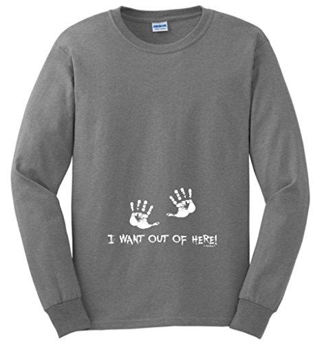 Funny Maternity Themed Sleeve T Shirt