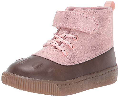 Carter's Girl's Frost2 Boot, Pink, 6 M US Toddler