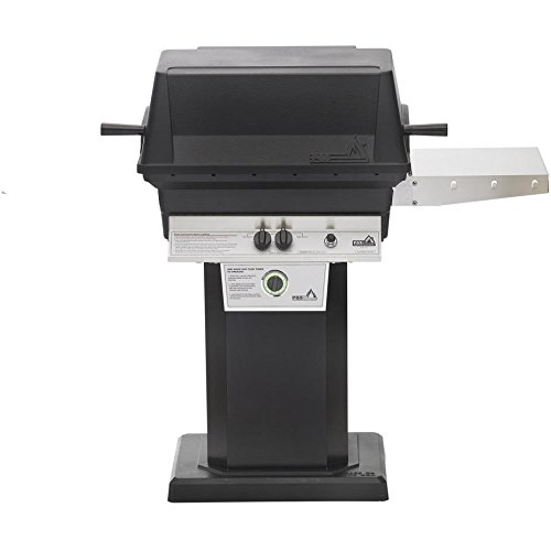 Freestanding Grill Base (Pgs T-series T30 Commercial Cast Aluminum Freestanding Natural Gas Grill With Timer On Black Patio Base)
