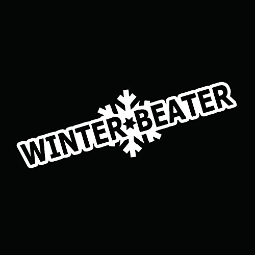WINTER BEATER VINYL STICKER MOTOPARTS