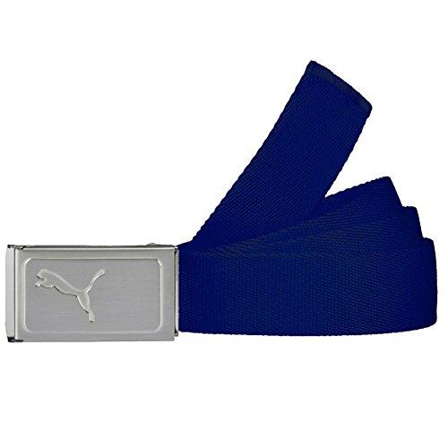 Puma Golf Boy's Works Web Belt, True Blue Rose, One Size
