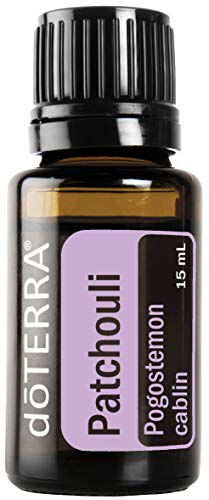 doTERRA - Patchouli Essential Oil - Promotes Smooth Skin and Complexion, Reduces Appearance of Wrinkles and Blemishes, Balancing Effect on Emotions; for Diffusion, Internal, or Topical Use - 15 mL