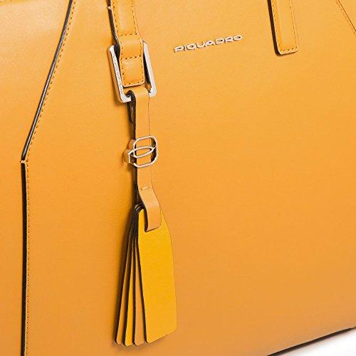 Piquadro Muse - Bolso de mano Mujer amarillo