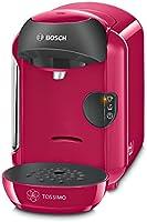 Bosch TASSIMO Vivy TAS1251 - Cafetera multibebidas automática de cápsulas, diseño compacto, color fucsia